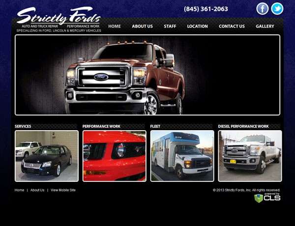 Strictly Fords